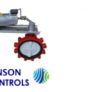 Automated Butterfly Valve Assemblies with Johnson Controls Actuators