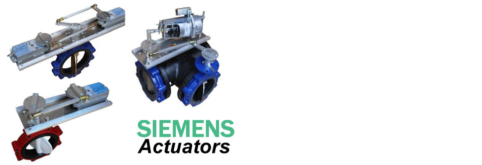 Automated Butterfly Valve Assemblies with Siemens Actuators