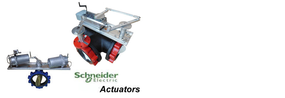 Automated Butterfly Valve Assemblies with Schneider Electric Actuators