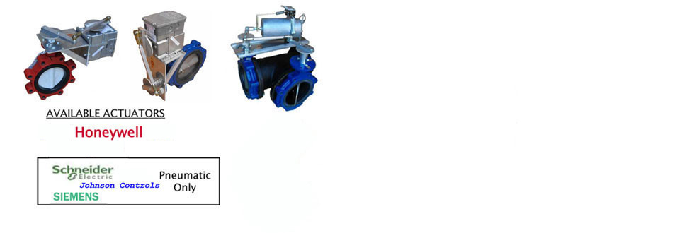 Automated Butterfly Valve Assemblies For Chiller Head Pressure
